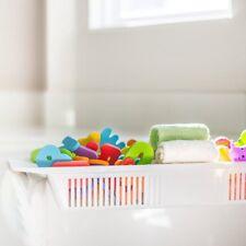 Honana Bx-592 Adjustable Kids Bathtub Shower Toy Organizer Basket Retractable