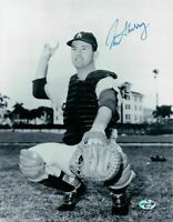 Norm Sherry Signed 8X10 Photo Autograph Los Angeles Dodgers Thin Auto COA