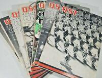 Vintage Lot Of 10 Qst Amateur Radio Magazines Ham Radio 10 issues 1962