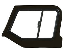 97-06 Jeep Wrangler TJ LJ Black Hard Upper Doors Fiberglass Sliding Windows