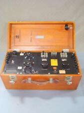 Vintage Leeds + Northrup Galvanometer Potentiometer Test Equipment as-is