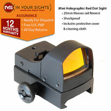 Mini holographic red dot sight / Weaver rail rifle or pistol sight /Reflex sight