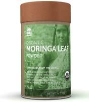 OMG! Superfoods Organic Moringa Leaf Powder - 100% USDA Certified Pure India