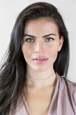 Silver Women Girl Crystal Bib Collar Choker Necklace Rhinestone Pendant Jewelry
