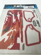 OFNA HIgh Downforce WING Graphic kit 1/8 Buggy Red Camo Rc