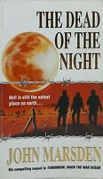 Signed Copy The Dead of the Night by John Marsden Tomorrow Sequel used paperback