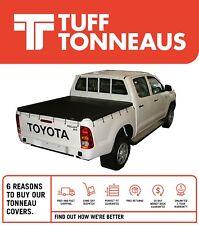 Toyota Hilux J Deck SR Dual Cab April 2005 to September 2015 Bunji Tonneau Cover