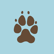 Dog Paw Prints Stencil- Reusable Stencils for Walls - DIY Home Decor