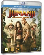 Jumanji Welcome to the Jungle 3D Blu Ray + 2D Blu Ray