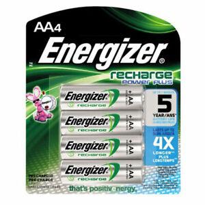 Energizer AA 2000 mah Rechargeable Power Plus Batteries NiMH HR6 MN1500 RTU
