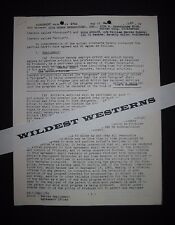 HERB RUDLEY Original signed contract document THE MOTHERS-IN-LAW Desi Arnaz TV