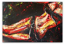 BURGSTALLER Erotisches Gemälde abstrakte Frau Erotik Bild Malerei Kunst Nackt