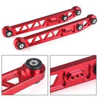 2pcs Red Aluminum Rear Lower Control Arms For 1996-2000 Honda Civic EK