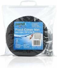 More details for pond nets black woven mono nylon rot proof / uv stabilised