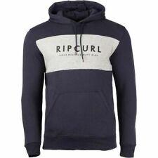 30% Off Rip Curl Men Youth Pollover Navy Hoodie Sweatshirt Fleece Jumper SZ S-XL