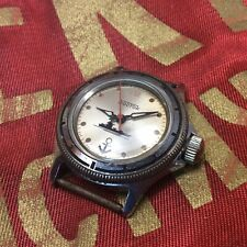 "Vintage Russian USSR ☭ VOSTOK AMPHIBIA JUNIOR ""ANCHOR"" Watch 17 Jewels"