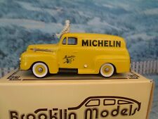 1/43 Brooklin models ( England) BRK 42x 1952 Ford F1 panel Michelin