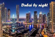 SOUVENIR FRIDGE MAGNET of DUBAI BY NIGHT