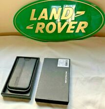 GENUINE Leather Land Rover iPhone 4 Case In Presentation Box