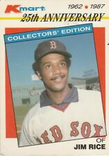 FREE SHIPPPING-VERY GOOD-1987 (RED SOX) K-Mart #18 Jim Rice