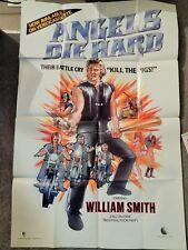 Angels Die Hard (Video Dealer Full-Size 40 X 27 Poster!, 1985) Motorcycle Gangs