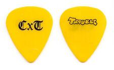 Crazy Town Antonio Lorenzo Valli Trouble Yellow Guitar Pick - 2001 OzzFest Tour