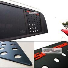 C Pillar Window Glass Sports Plate Molding Red Logo For KIA 2011-2016 Sportage R