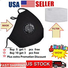 Face Mask Reusable Washable  Masks Fashion Clothing Men Women Protective from us