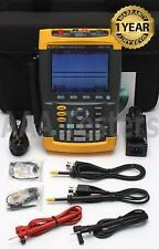 Fluke 196C ScopeMeter 1GS/s Dual-Input 100MHz HandHeld Color Oscilloscope