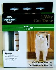 New PetSafe Interior Cat Door – 2-Way Lock – For Cats Up to 15 lb Nib