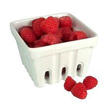 Artland White Ceramic Berry Fruit Basket Free Shipping