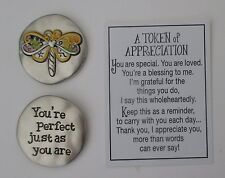 k You're perfect just as you are Tokens Of Appreciation Pocket charm token ganz