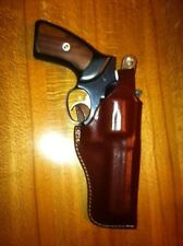 "Leather Holster GP100, Security Six, Taurus, Rossi, S&W K/L -4"" Barrel  #9212"