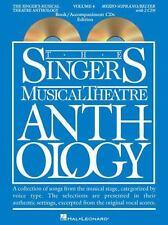 Singer's Musical Theatre Anthology - Volume 4: Mezzo-Soprano Book/Online Audio