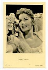 1930s Vintage Film movie star GRETA GARBO German photo postcard