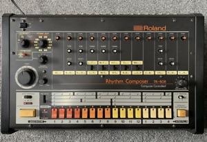 Roland TR-808 Klassischer Rhythmus Maschine Von Japan EXC Rare Arbeits Getestet