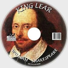 King Lear William Shakespeare tragedia MP3 damatised Clásico Audiolibro CD ENG