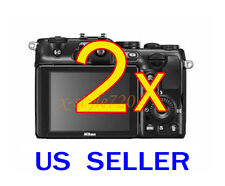 2x Nikon Coolpix P710 Coolpix P7100 Camera LCD Screen Protector Guard Film