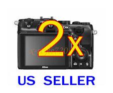 2x Nikon Coolpix P710 Coolpix P7100 Camera LCD Screen Protector Guard Film
