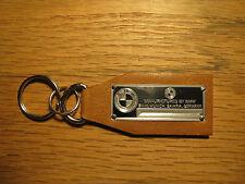 BMW Data Plate Leather Keychain M3 E30 E36 325 Isetta X3 Z3 Z4 M5 M6 645 850 840