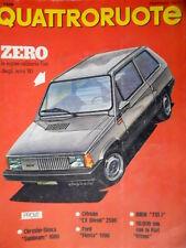 Quattroruote 279 1979 L'utilitaria Fiat degli anni 80. Prove Chrysler Simca Q75]