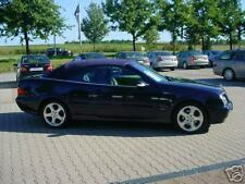 Mercedes DB CLK 208 Cabrio Verdeck Einbau Anleitung EBA