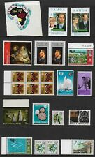 WORLD STAMPS mixed mint collection No.9, incl self-adhesive, MNH MUH