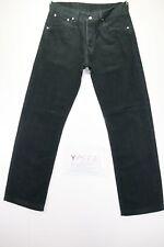 Levis 551 (Cod. Y1573) tg47 W33 L34 vaqueros usado terciopelo negro