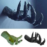 1PC Witch's Hand Wall Hanging Statues Aesthetic Art Sculpture 0 Mount Resin Z0N8