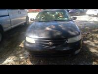 Driver Corner/Park Light Park Lamp-turn Signal Fits 99-01 SOLARA 416997
