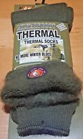 3 Pairs Of Men's Army Socks, 2.4 tog Thermal Long Military Boot Socks, Size 6-11