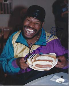Leon Spinks Autographed 8x10 Photo #6 JSA COA