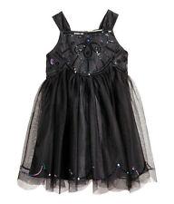 OA Tüll Kleid Gr.128 H&M NEU m.E schwarz glitzer pailletten festlich