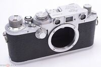 READY TO USE*  LEICA IIIF RANGEFINDER 35MM RED DIAL CAMERA '1952/53'